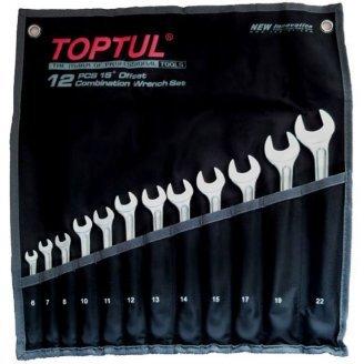 Набор ключей комбинированных 12 шт. 6-22  GPAX1202 TOPTUL