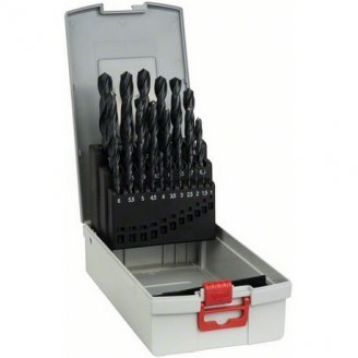 Набор свёрл по металлу 25шт HSS PointTeQ 1-13мм 2608577352 BOSCH Professional