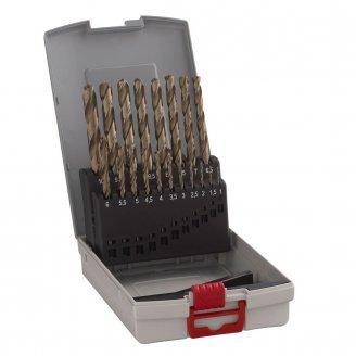Набор свёрл по металлу HSS-G, Bosch X-Pro Box, 19 штук (2608587013)