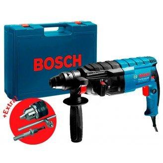 Перфоратор Bosch Professional GBH 2-24 DRE + Ключевой патрон в кейсе (0611272104)